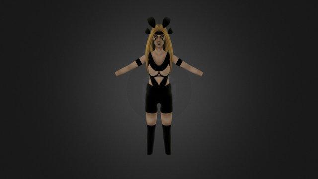 Thessera Original Character 3D Model
