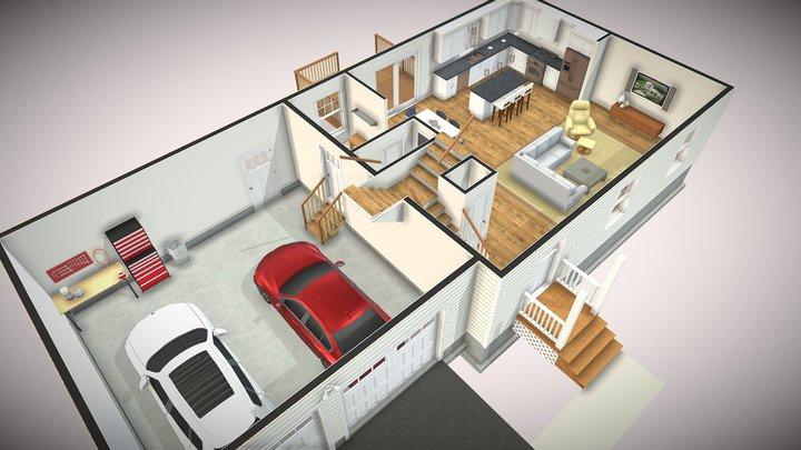 Floor Plan - York 3D Model