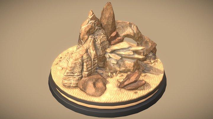 Rocks (imaginary) 3D Model