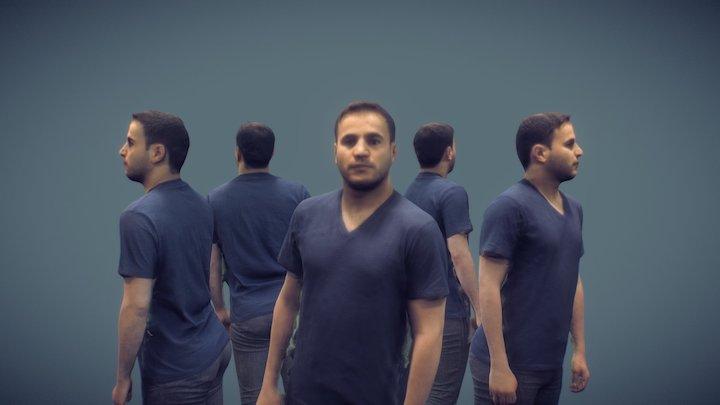 Hashem Al-Ghaili 3D Model