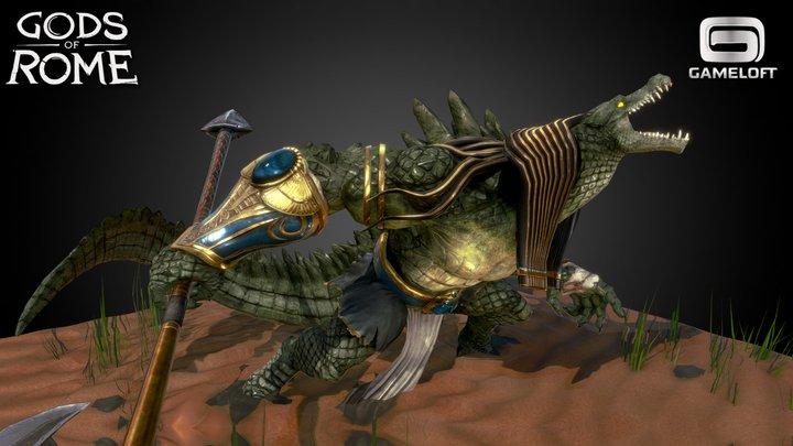 Sobek - Gods of Rome 3D Model