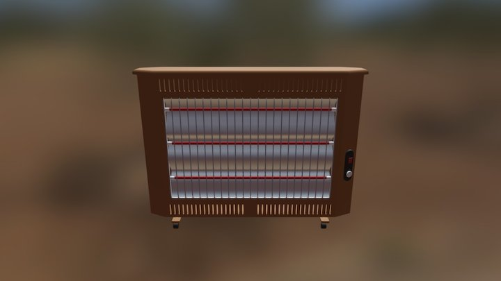 Electric Oven Heater 3D Model