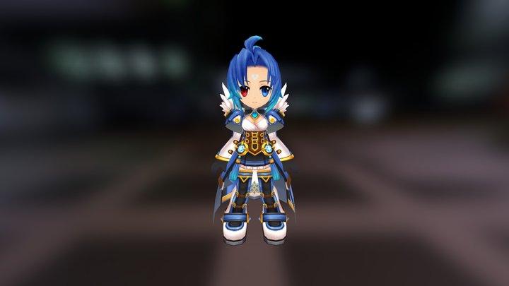 Mariahh 3D Model