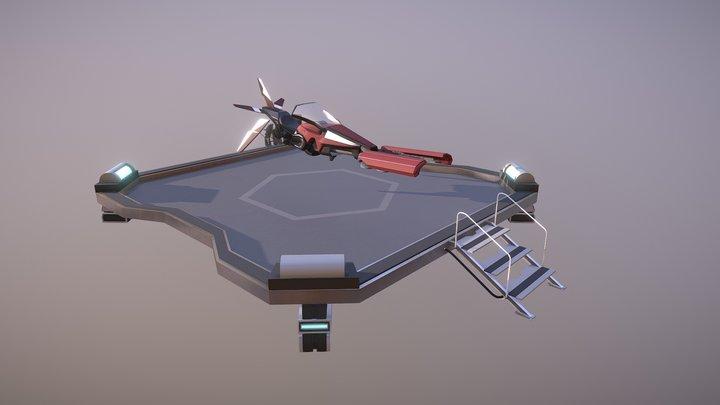 Hyperion - Pulsar   (SD et HD) 3D Model