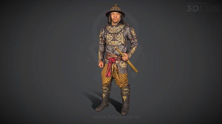 Sanit, Thai Warrior (3D-scan, 152 pics) 3D Model