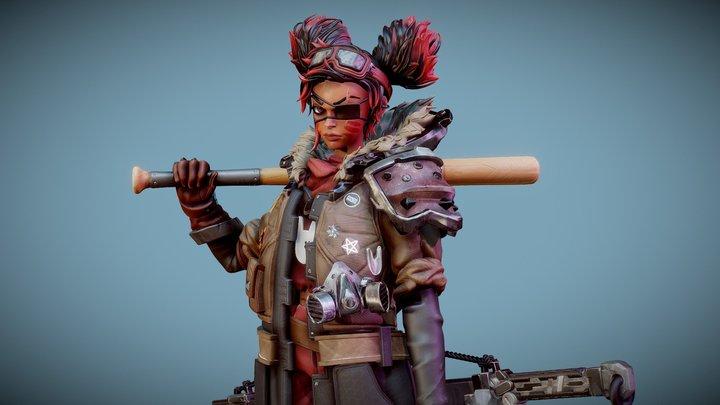 Rose, Revolutionary Leader Sculpt 3D Model