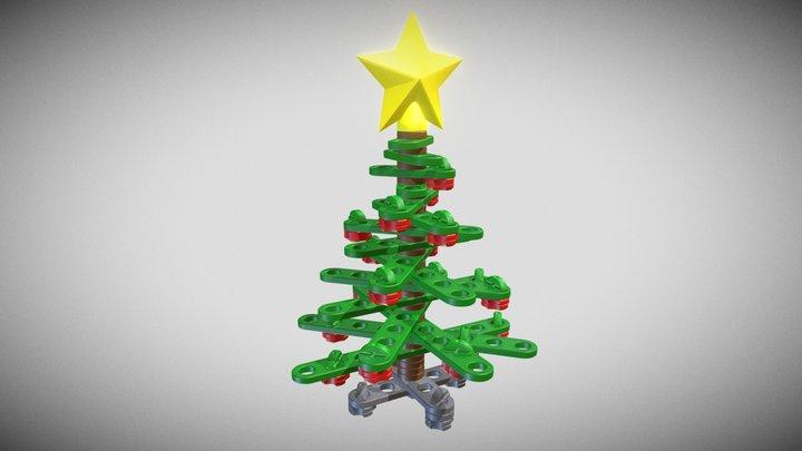 STEMFIE Desktop Christmas Tree - SPS-000002 3D Model