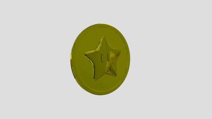 Jolly Roger Bay - Coin 3D Model