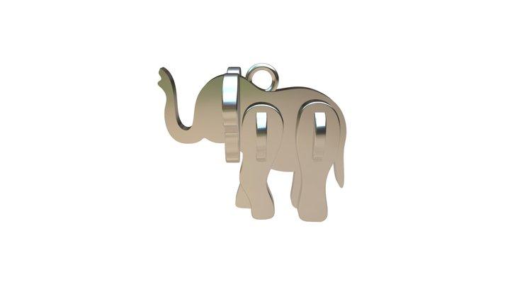 Elephant V2 3D Model