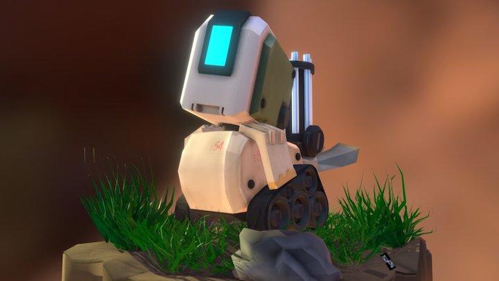 Bastion Bird  ⁽' ᵛ ' ⁾ 3D Model