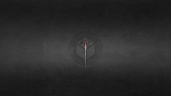 Zireael-Ciri's Sword 3D Model