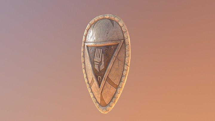 Indoril Shield A #2 3D Model
