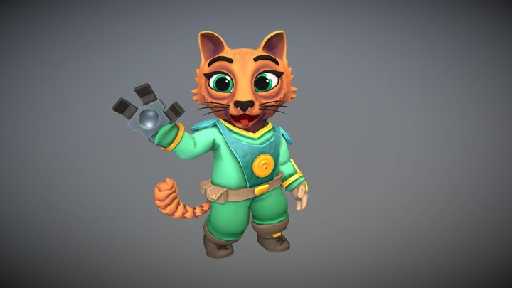 Cat - Rescue Rascals 3D Model
