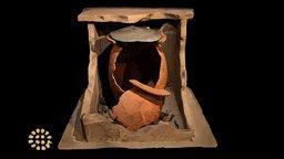 Tomb A, Museo Archeologico di Cecina 3D Model