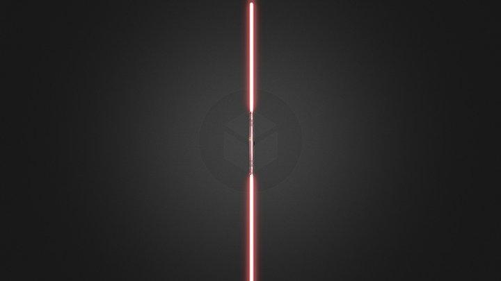 Sith Lightsaber 3D Model