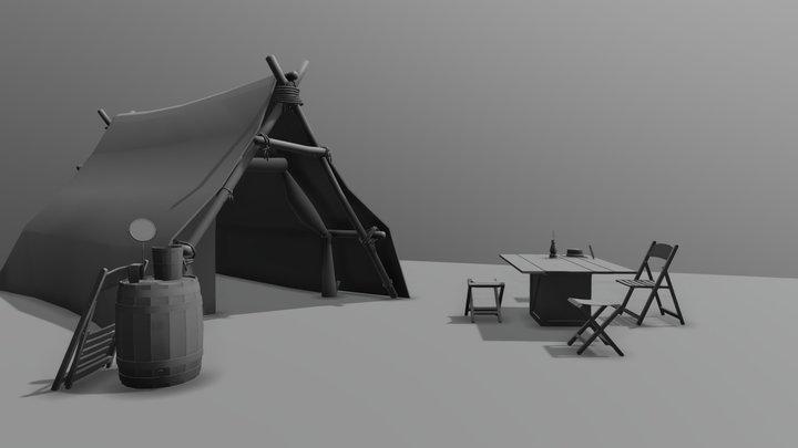 RDR2 Drafts 3D Model
