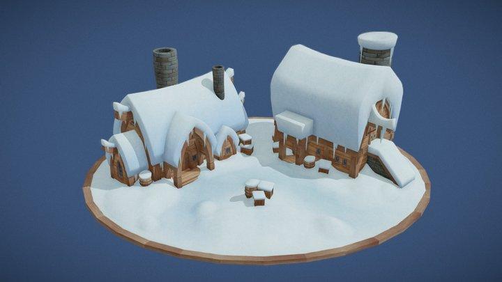 Klaus House and Workshop 3D Model