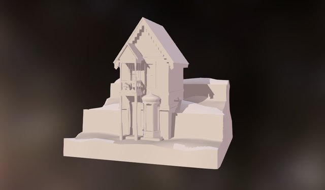 Tiny House 3D Model