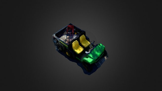 John Deere 3D Model