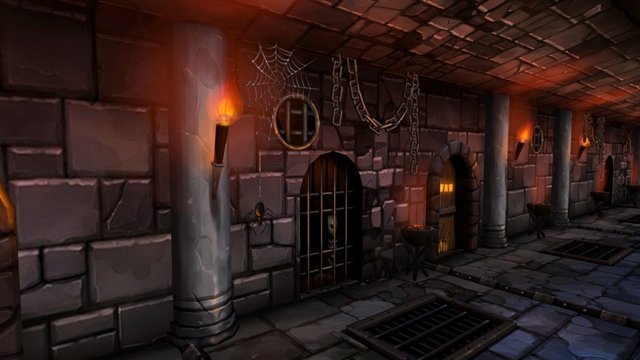 Dungeon 3D Model