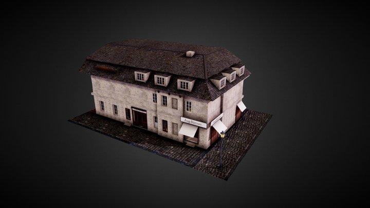 Aug:Büttner. - Work in Progress 3D Model
