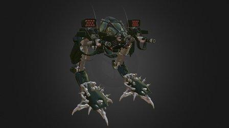 Raptor Mech 3D Model