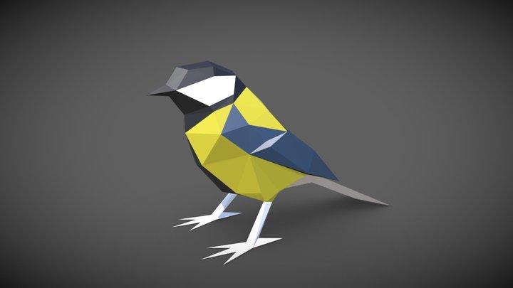 Bird - Tit 3D Model