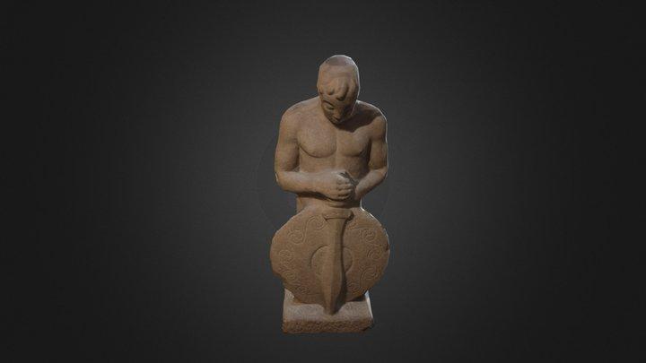Guerreiro celta 3D Model
