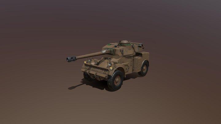 Eland-90 (SADF) 3D Model