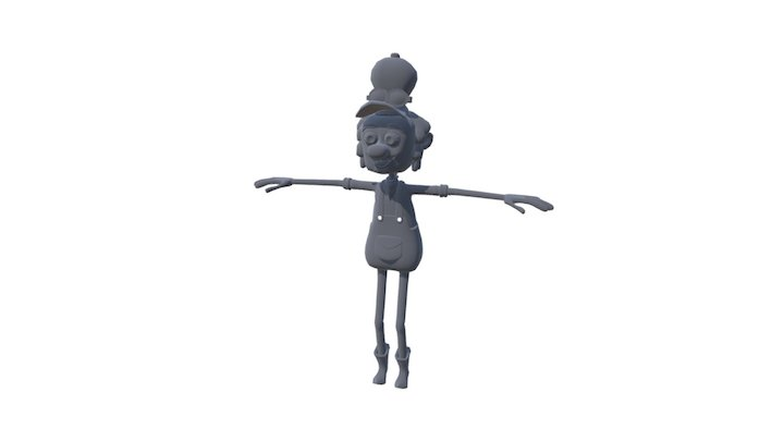 Fast Frank 3D Model