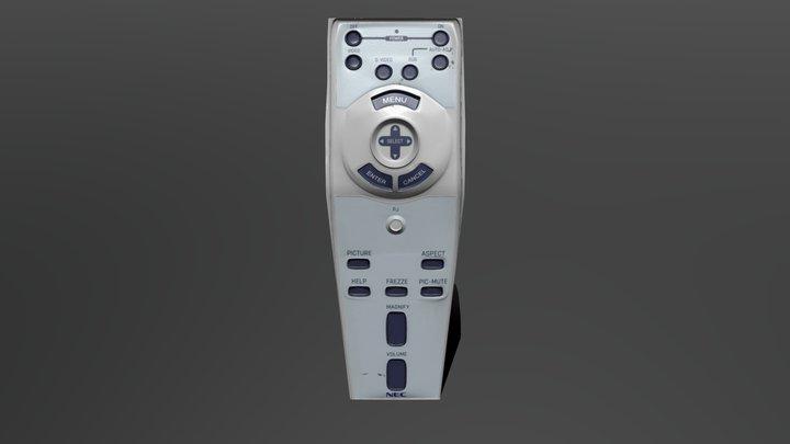 NEC Remote Model 3D Model
