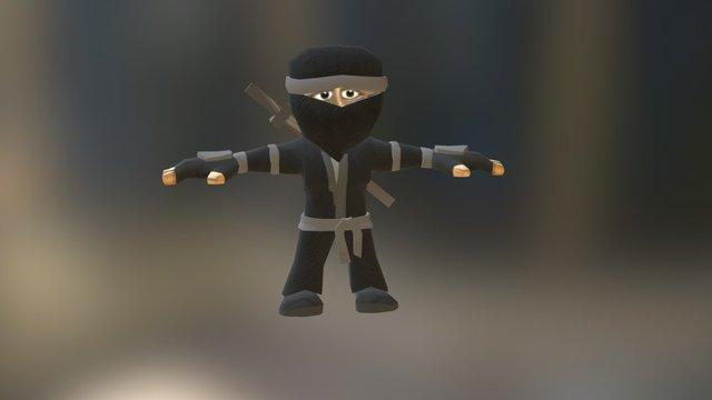 Ninja Sprinter Test 3D Model
