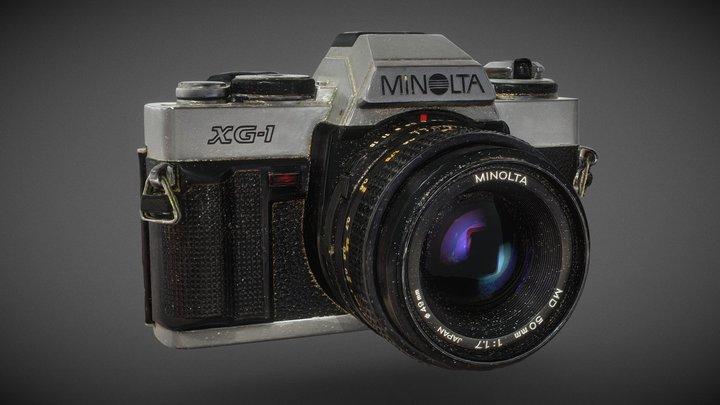 Minolta XG-1 (1978) 3D Model