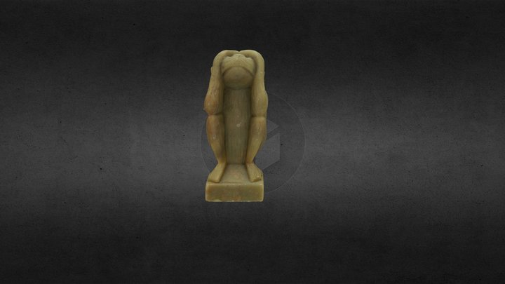 See No Evil 3D Model