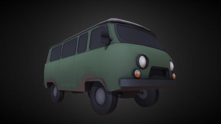 TF2 Soviet Van 3D Model