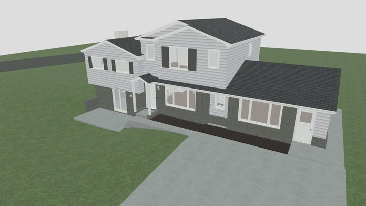 Revised Roof 2 3D Model