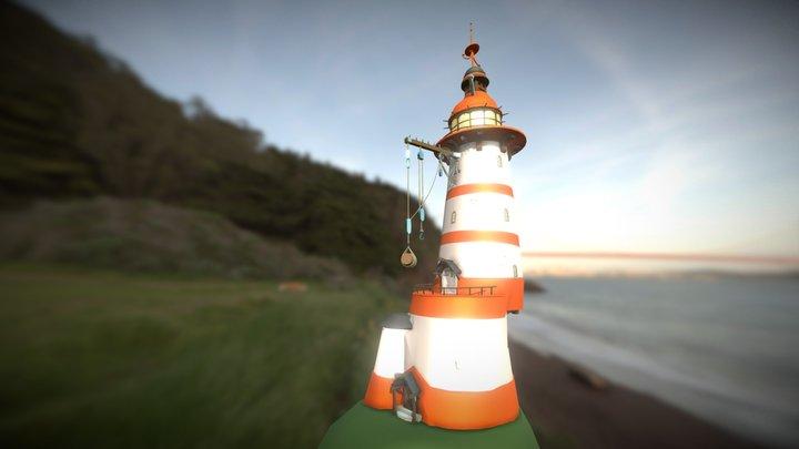 Lighthouse WIP 3D Model