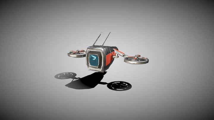scifiDrone 3D Model