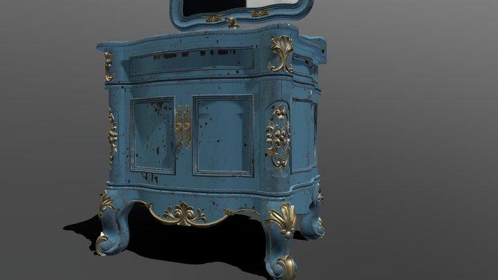dress table 3D Model