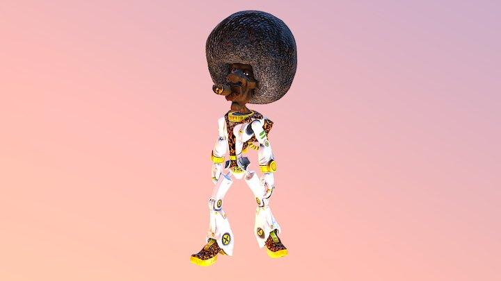 Afronaut! 3D Model