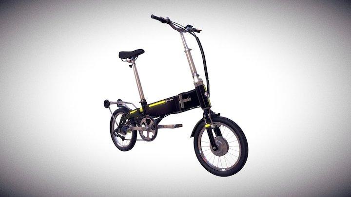 Flebi Supra e-bike v2.0 Black Edition 3D Model