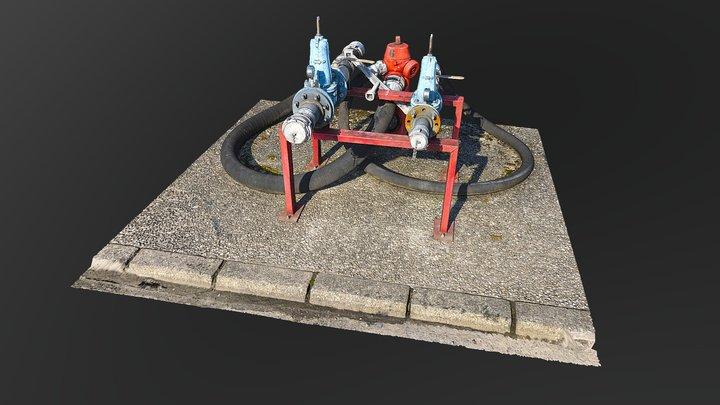 SECURITE INCENDIE SITE SEVESO LOREAL 3D Model