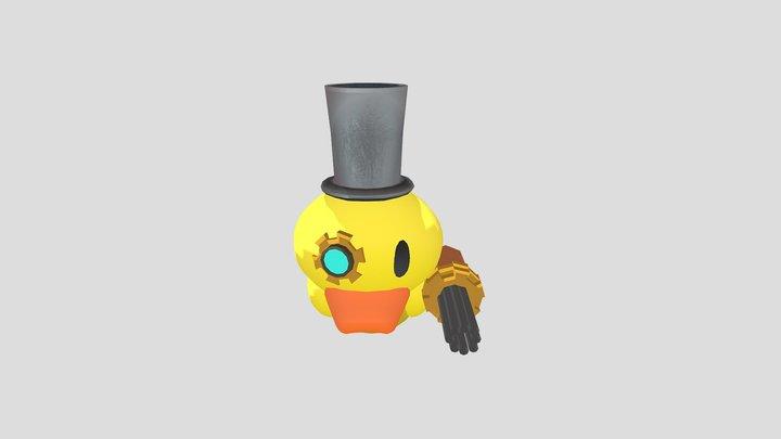 Steampunk Rubber Ducky 3D Model