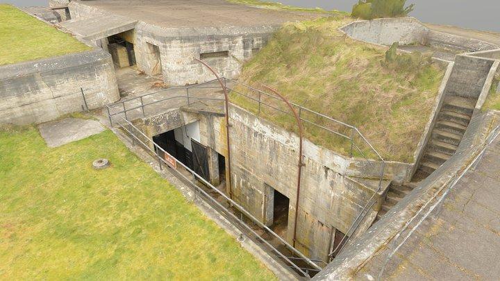 Fort Flagler Battery Rawlins 3D Model