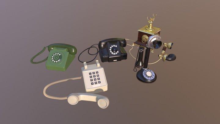 Telephone VR 3D Model