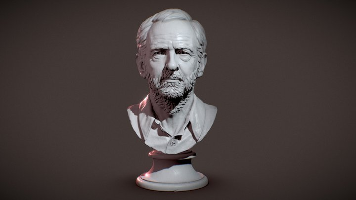 Jeremy Corbyn 3D Model