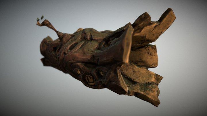 Hollow Trunk 3D Model