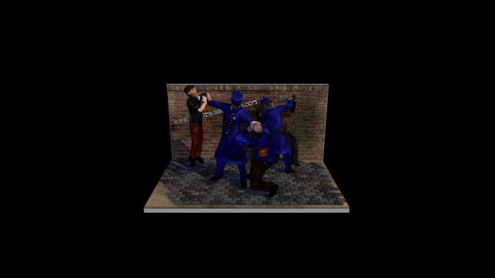 Joseph le Noire & Little David 3D Model