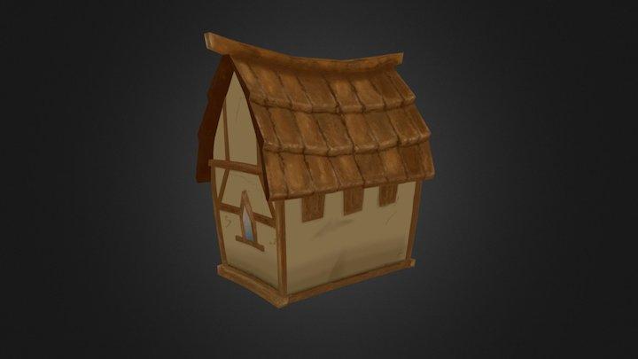 Artistic Painter - House 3D Model