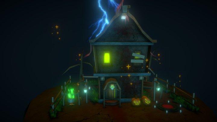 Halloween House 3D Model